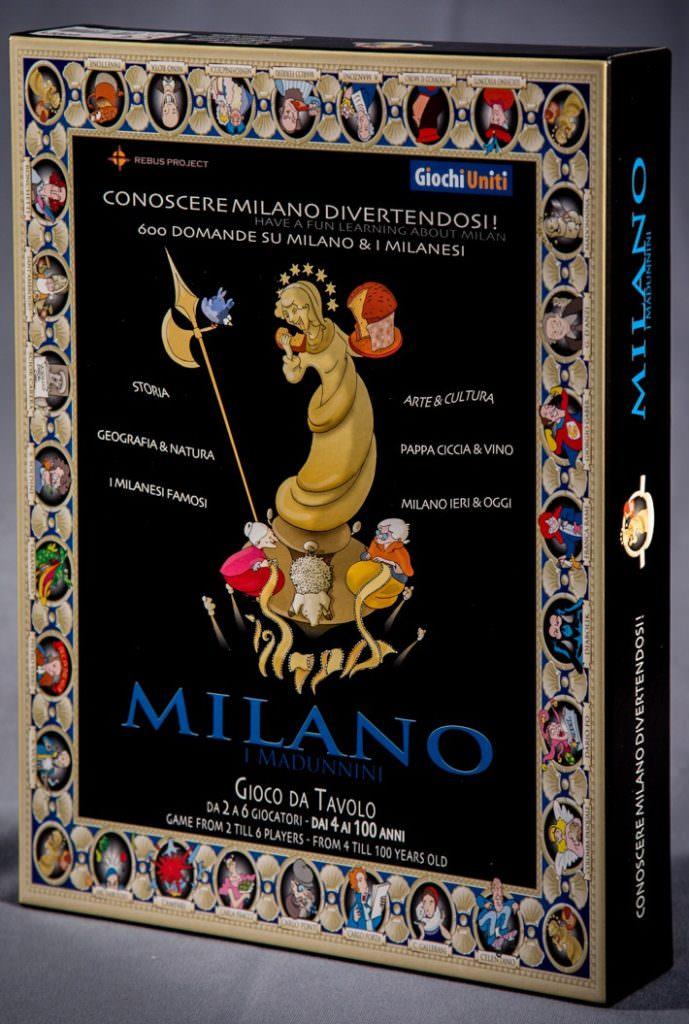 """Giochi Briosi - Gioco da tavolo """"Milano & i madunnini"""""""
