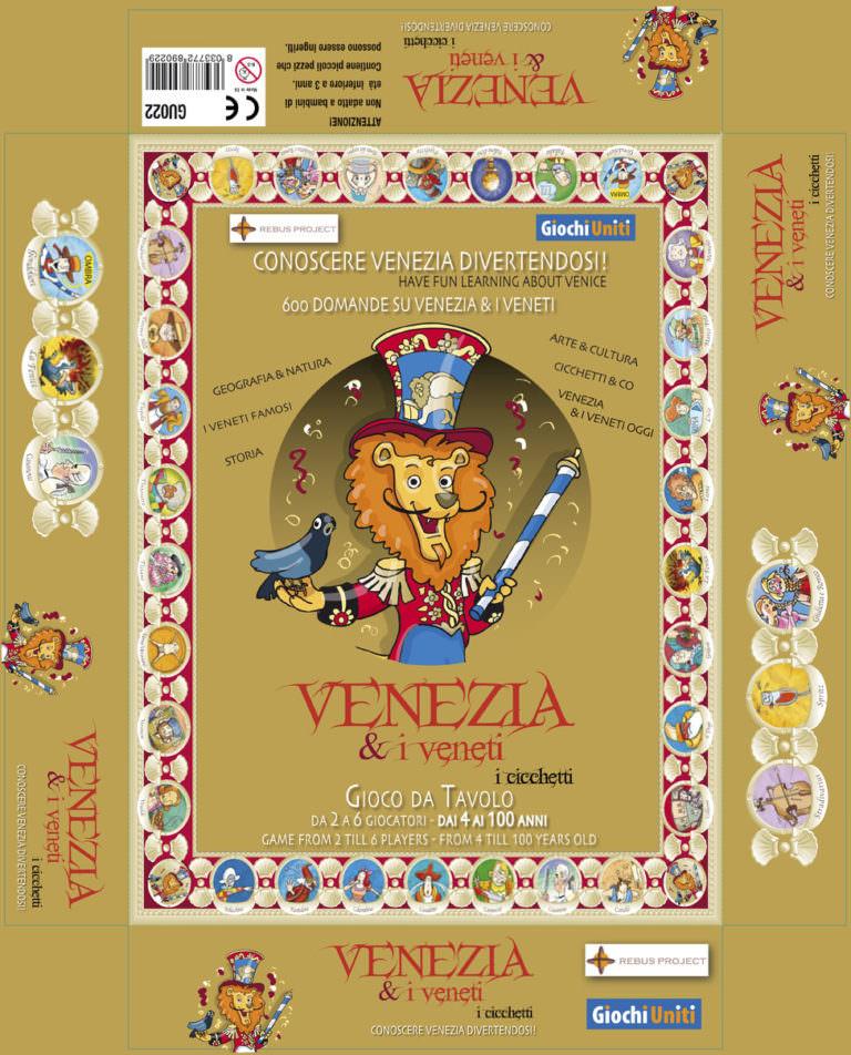 """Giochi Briosi - Scatola """"Venezia & i veneti"""""""