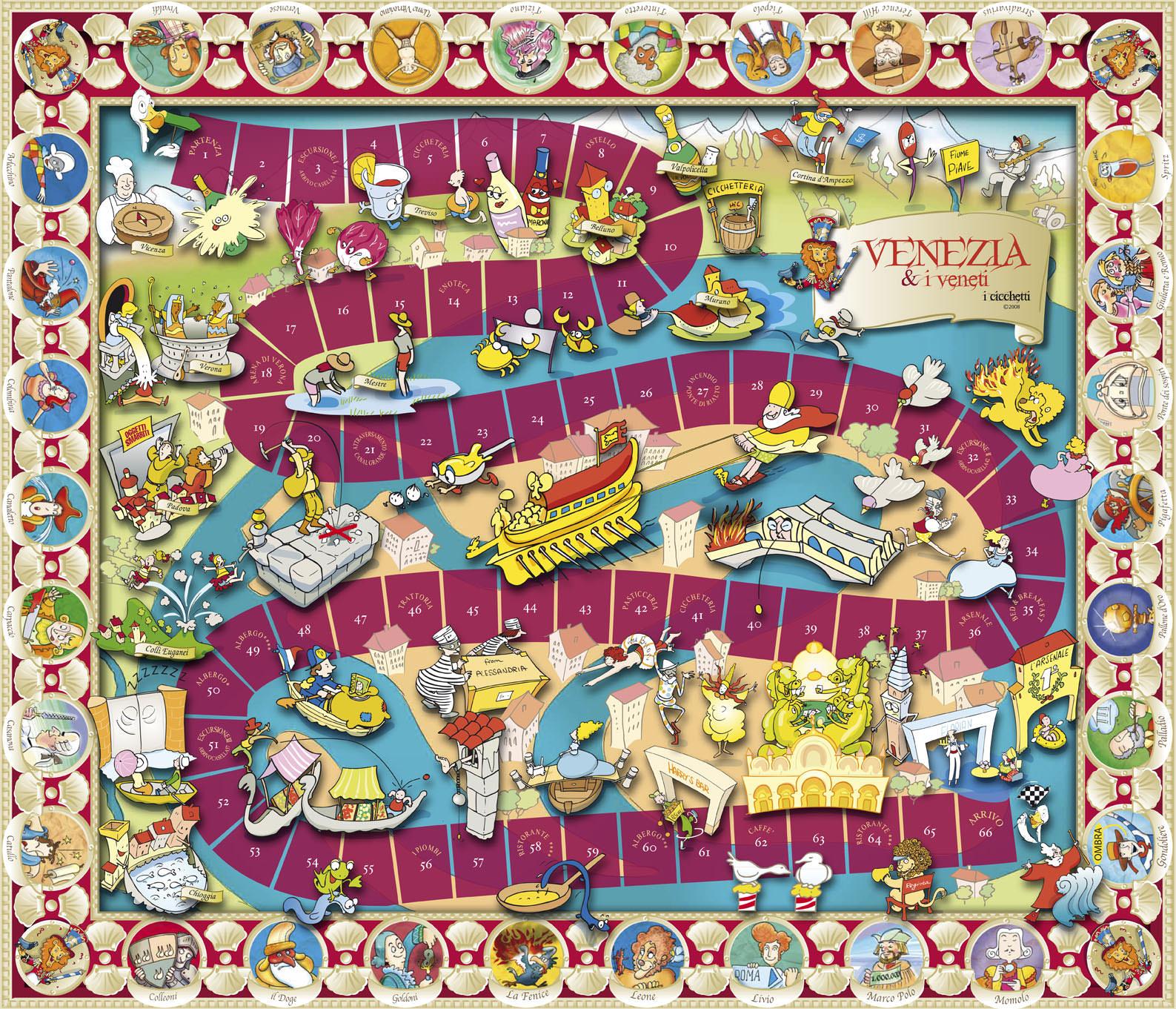 Giochi Briosi - Tabellone
