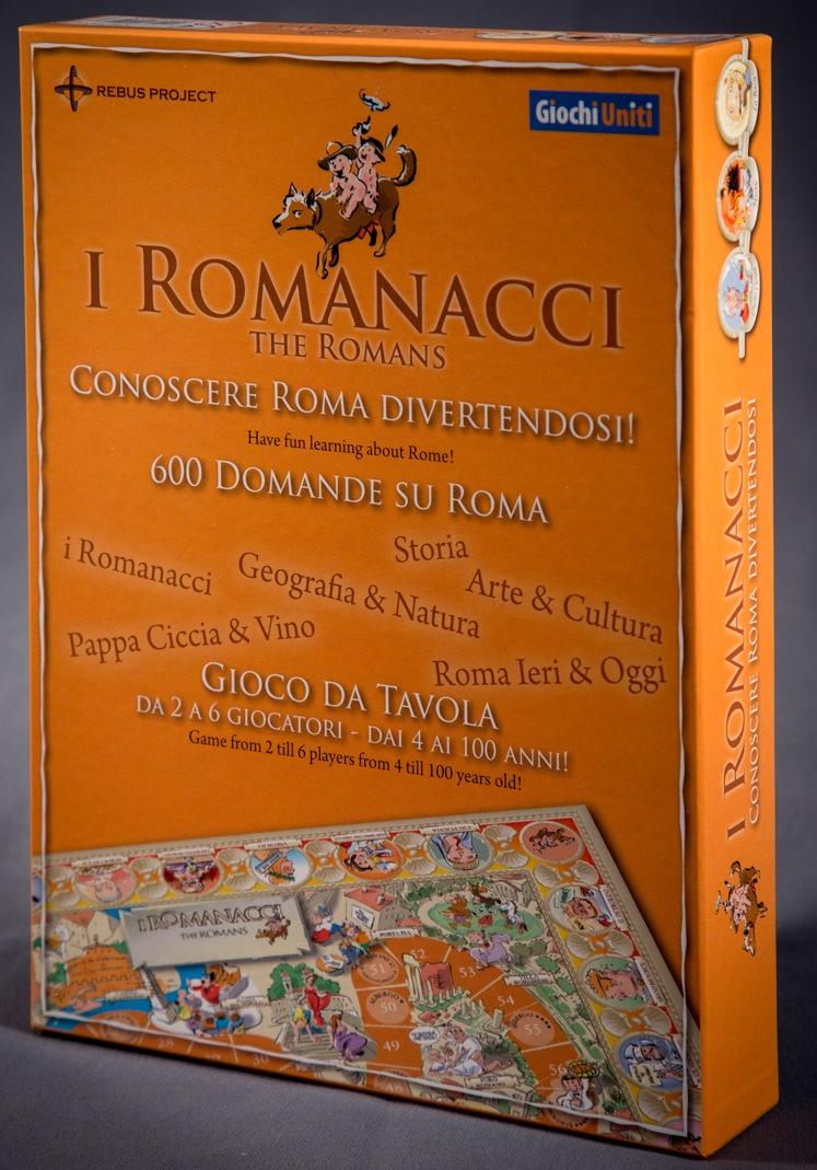 """Giochi Briosi - """"I Romanacci"""" - Gioco da tavolo"""