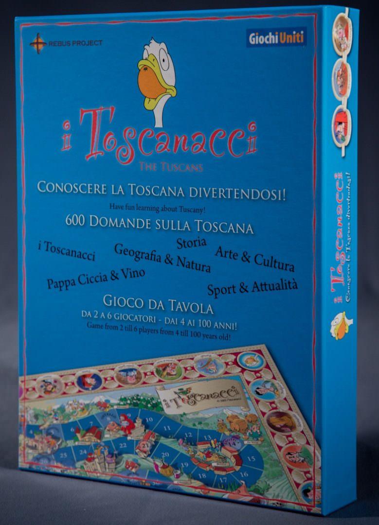 """Giochi Briosi - Gioco in scatola """"I Toscanacci"""""""
