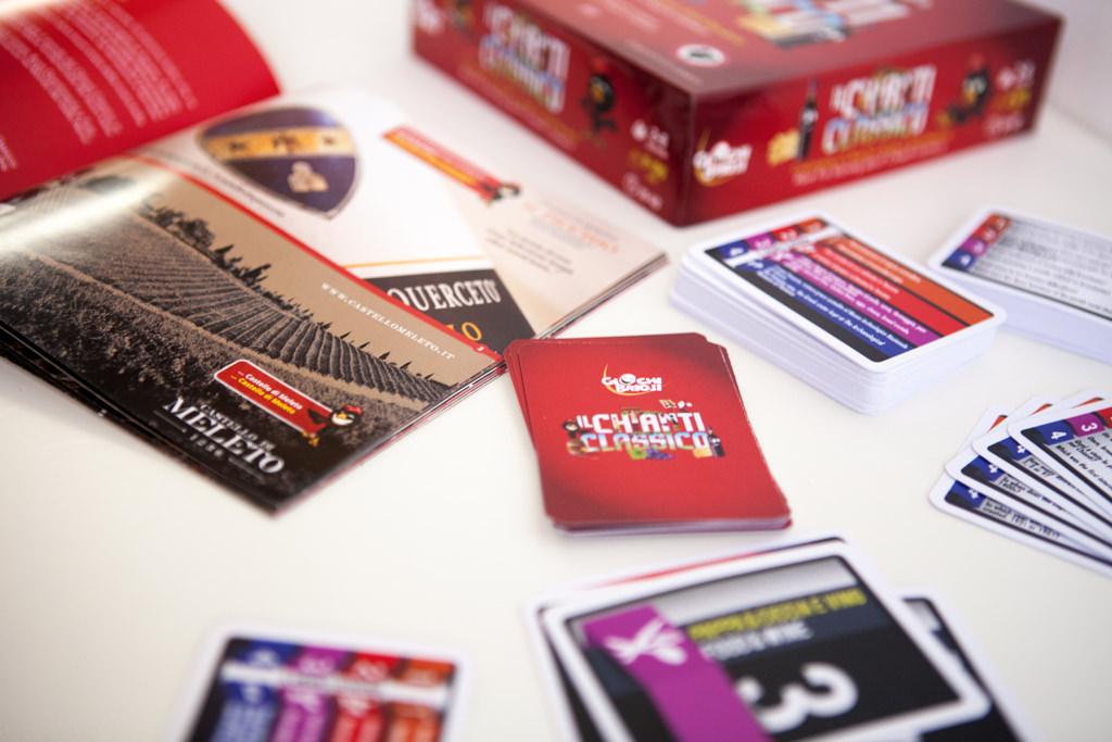 collana Vinus, gioco Chianti Classico - Giochi Briosi