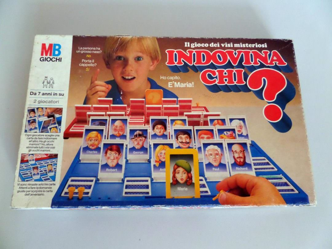 Giochi Briosi - È ora di giocare a Indovina Chi?