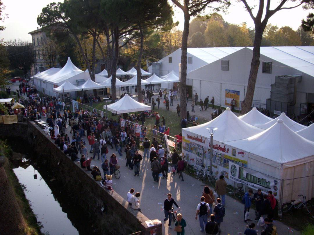 Giochi Briosi a Lucca Comics stands